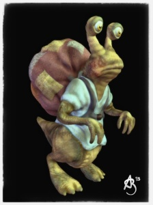 The Traveller 123D Creature.