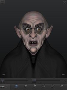 Nosferatu, 123D Creature.