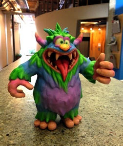 Candy Monster, 3D print.