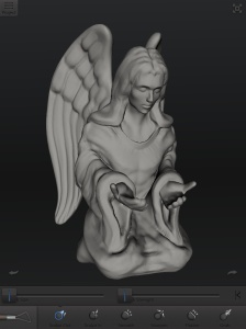 Angel, 123D Creature.