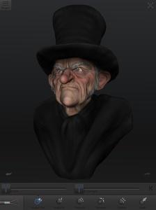 Ebenezer Scrooge, 123D Creature.